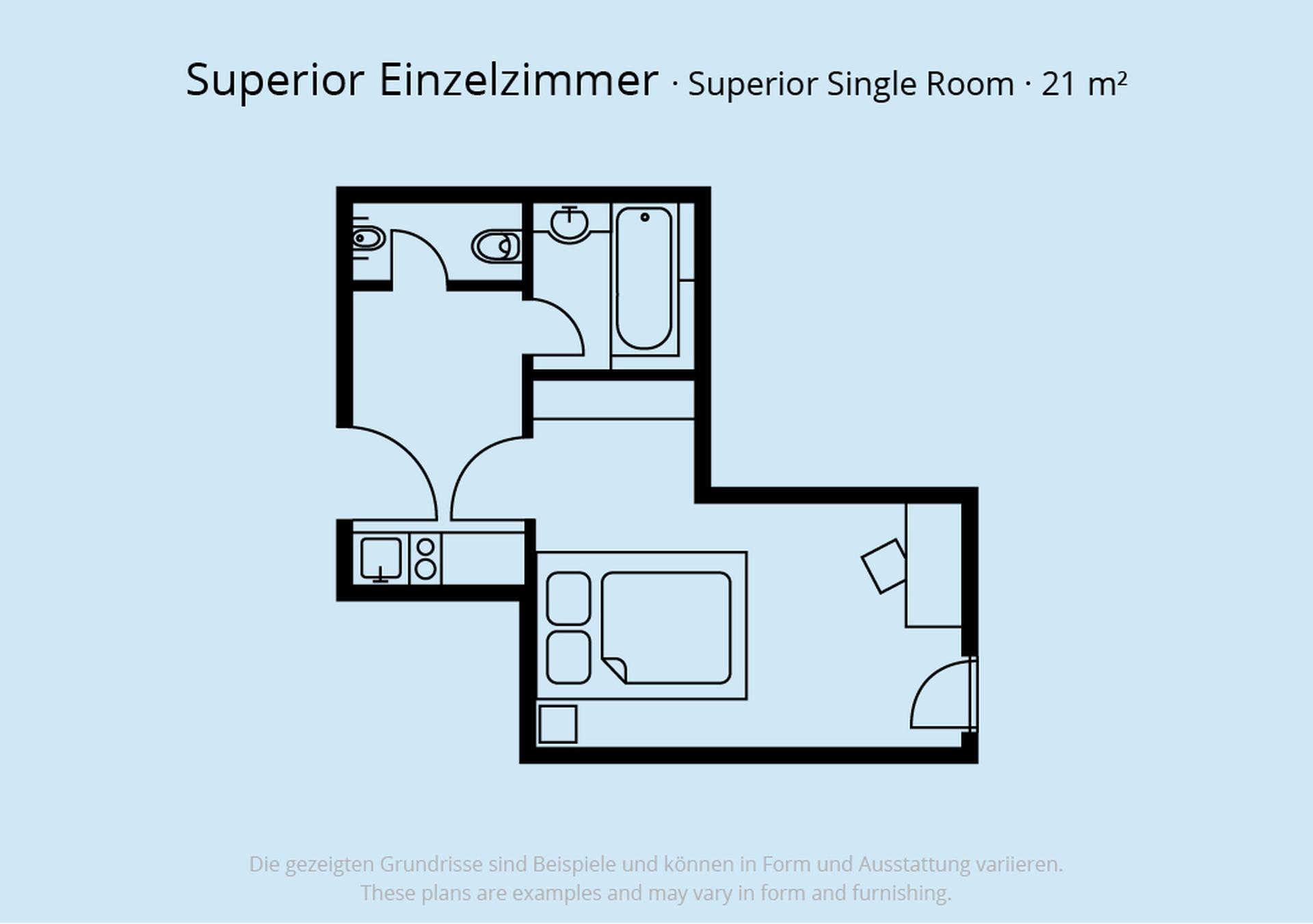 Superior einzelzimmer schiller 5 schiller 5 das was for Was ist ein superior zimmer